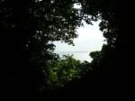斎場御嶽から望む久高島