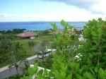 カヌチャベイホテル&ヴィラズの客室からみた景色(The view of a Kanucha Bay Hotel & Villas room)
