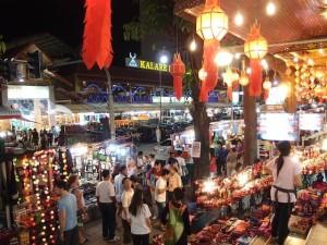 ルメリディアン・チェンマイ(タイ・チェンマイ)のホテル近くのナイトマーケット