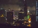 フォーシーズンズホテルシンガポール(シンガポール)の部屋からの夜景