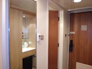 ヒルトンシンガポール(シンガポール)の部屋の入口部分