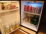 ヒルトンシンガポール(シンガポール)の部屋の冷蔵庫