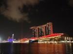 マリーナベイサンズホテル(シンガポール)のホテル外観