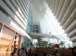 マリーナベイサンズホテル(シンガポール)のロビー階