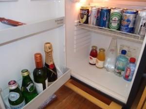ザ・リッツ・カールトンミレニアシンガポール(シンガポール)部屋の冷蔵庫