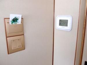 ザ・リッツ・カールトンミレニアシンガポール(シンガポール)部屋のカードキー差し