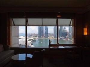 ザ・リッツ・カールトンミレニアシンガポール(シンガポール)の部屋から見た景色