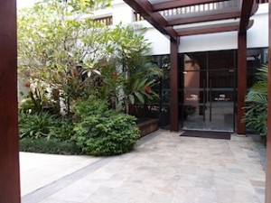 シャングリ・ラホテルチェンマイ(タイ、チェンマイ)のホテルのスパ入口