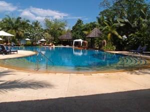 シャングリ・ラホテルチェンマイ(タイ、チェンマイ)のホテルのプール