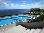 八丈島、ホテルリード・アズーロのプール
