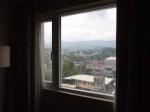 ハロルズホテル(フィリピン・セブ島)の部屋から見た景色