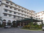 マニラホテル(フィリピン・マニラ)の玄関
