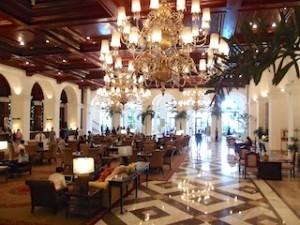 マニラホテル(フィリピン・マニラ)のロビー