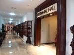 マニラホテル(フィリピン・マニラ)のホール入り口