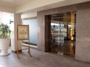 マニラホテル(フィリピン・マニラ)のスパ入口