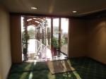 マニラホテル(フィリピン・マニラ)の客室からプールへの通路