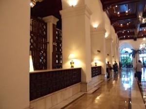 マニラホテル(フィリピン・マニラ)のロビーフロント
