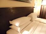ザ・ペニンシュラマニラ(フィリピン・マニラ)の部屋のベッド枕部分