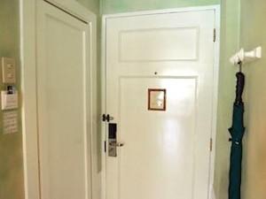 プランテーションベイリゾート&スパ(フィリピン・マクタン島)の部屋の入口
