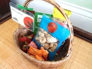 プランテーションベイリゾート&スパ(フィリピン・マクタン島)の部屋の無料菓子