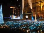 横浜ベイホテル東急の部屋からの眺め