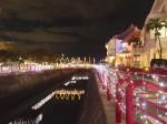 北谷(ちゃたん)アメリカンビレッジ夜景、沖縄県北谷町