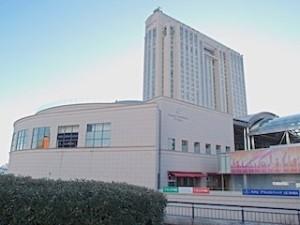 ホテルグランパシフィックLE DAIBAの外観
