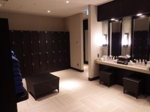 ホテルモントレ沖縄スパ&リゾートのブルーリーフの脱衣所