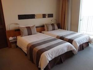 ザ・ビーチタワー沖縄の部屋、ベッド