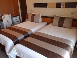 ザ・ビーチタワー沖縄の部屋、ベッド部分