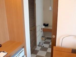 ザ・ビーチタワー沖縄の部屋からバスルーム
