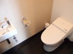 ホテルモントレ沖縄スパ&リゾートのオーシャンバスルームのトイレ