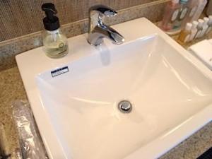 ホテルモントレ沖縄スパ&リゾートの洗面台部分