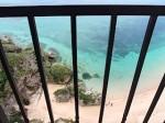 ホテルモントレ沖縄スパ&リゾートのオーシャンバスの部屋からの眺め