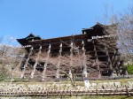 京都東山、清水寺の舞台全景、京都府京都市東山区