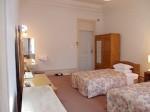 富士屋ホテルの西洋館の92号室の部屋全体