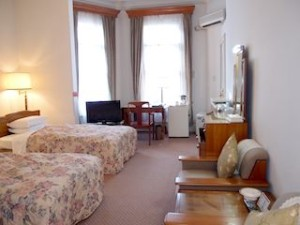 富士屋ホテルの西洋館の92号室の全体