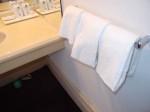 富士屋ホテルの西洋館の92号室の洗面台横