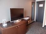 ホテルニューオータニの部屋のテレビ
