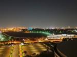 ヒルトン東京ベイの部屋から見た夜景