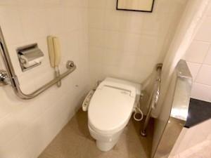 ハイアットリージェンシー大阪の部屋のトイレ