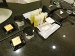 ハイアットリージェンシー大阪、バスルーム内洗面台アメニティ