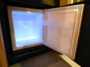 ハイアットリージェンシー大阪、部屋の冷蔵庫内