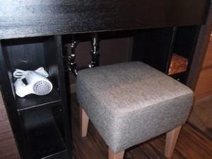 湯本富士屋ホテルの部屋の洗面台下