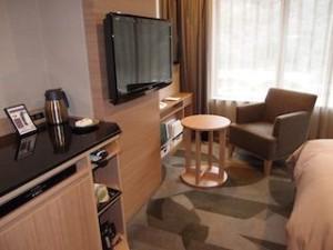 湯本富士屋ホテルの部屋のテレビなど