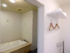 ホテルセトレ神戸・舞子の部屋のバスルーム手前部分