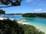 川平湾の風景、石垣島