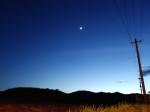 石垣島、野原付近の夜空