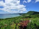 玉取崎展望台、南の眺め、石垣島