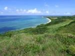 平久保崎灯台からの北部海岸の眺め